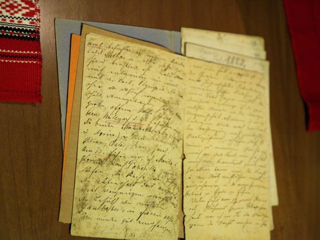 Fragment din jurnalul lui Ciprian Porumbescu - original