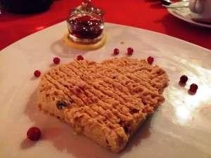 Terci de foie gras la Trattoria Amore