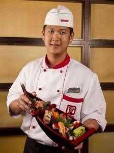Restaurant Benihana - Howard Johnson Bucuresti - sushi chef Joseph