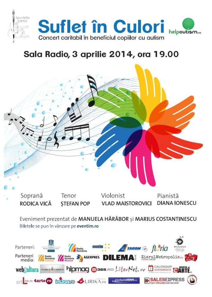 Concert caritabil - copii cu autism