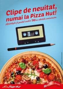 Clipe de neuitat, numai la Pizza Hut!