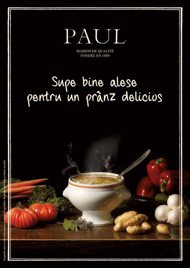 Brutariile Paul - Menu du jour cu supe