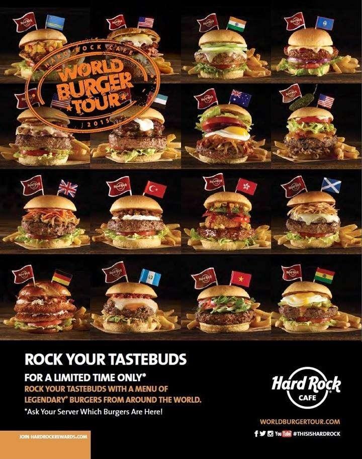 world burger tour hard rock cafe