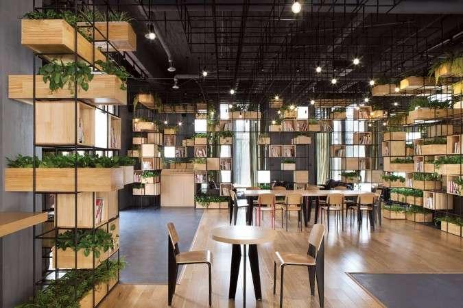 HOME Cafe // Sursa foto: archdaily.com