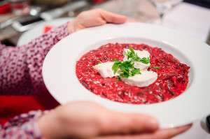 london street bistro beetroot risotto