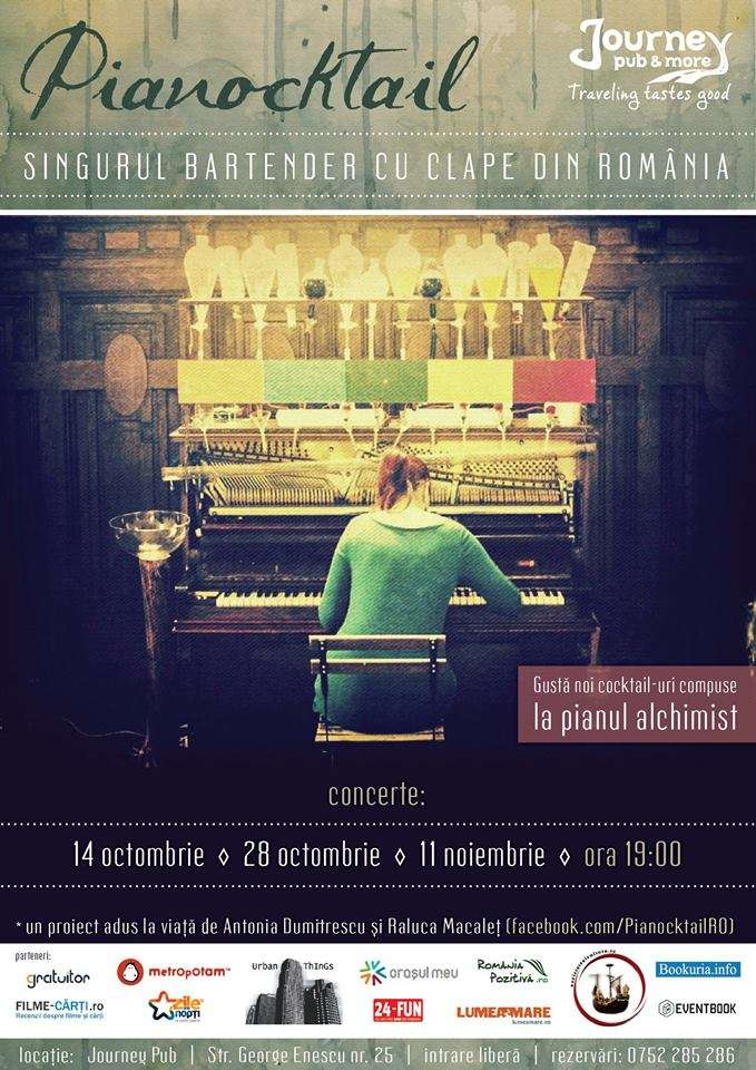 Pianococktail // sursa foto: Facebook