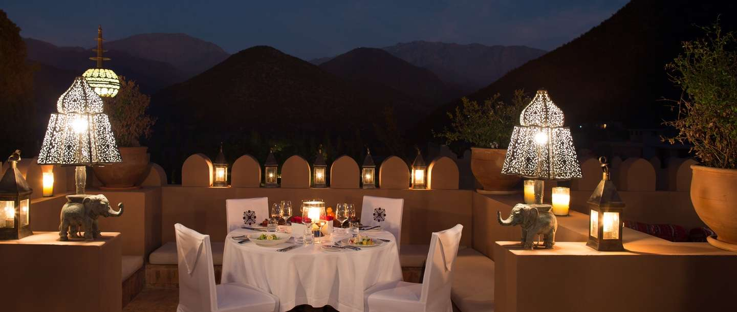 romantic restaurant tamadot