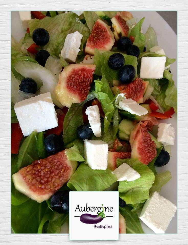 salata aubergine